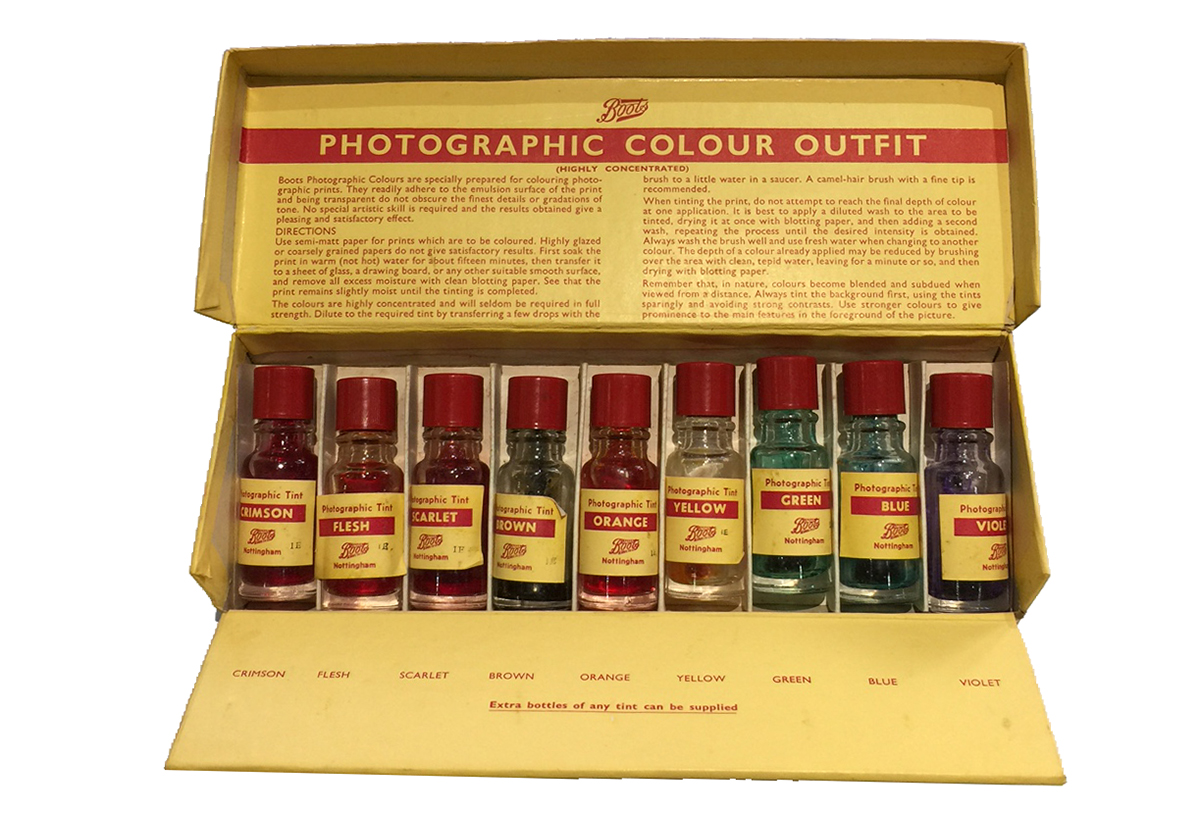 A photographic colour outfit from Boots C1950's