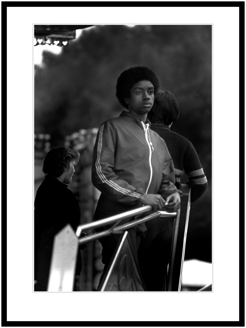 2. Boy at Birmingham fairground
