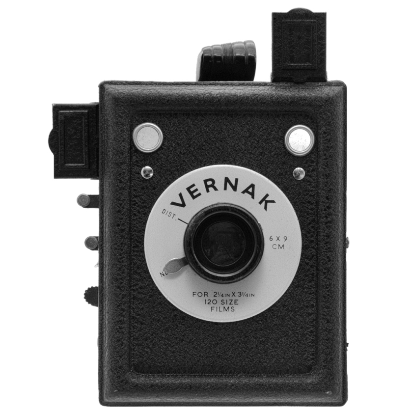 Vernak camera made in Birmingham.