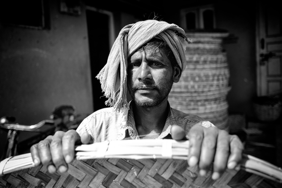 Basket Weaver. India, 2017