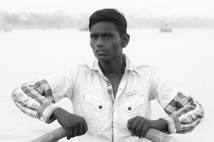 Ganges Boatman, India 2016