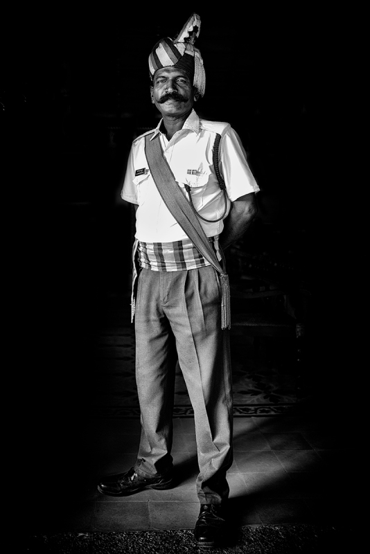 Security Guard. India. 2017