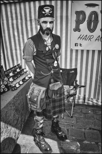 Stall Holder. SteamPunk Convention. Lincoln.2017