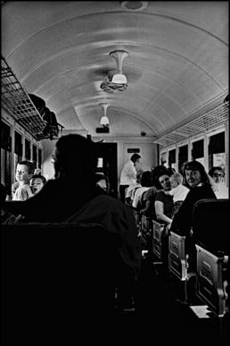 American tourist train