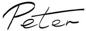 peter signature